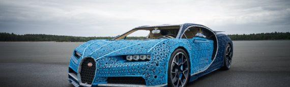 LEGO – Une Bugatti Chiron taille réelle et qui roule