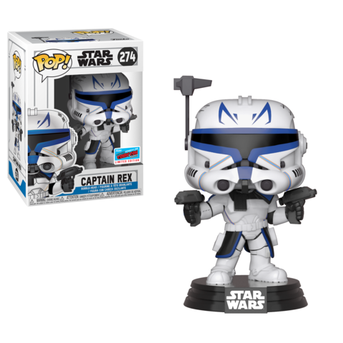 NYCC Funko POP Captain Rex