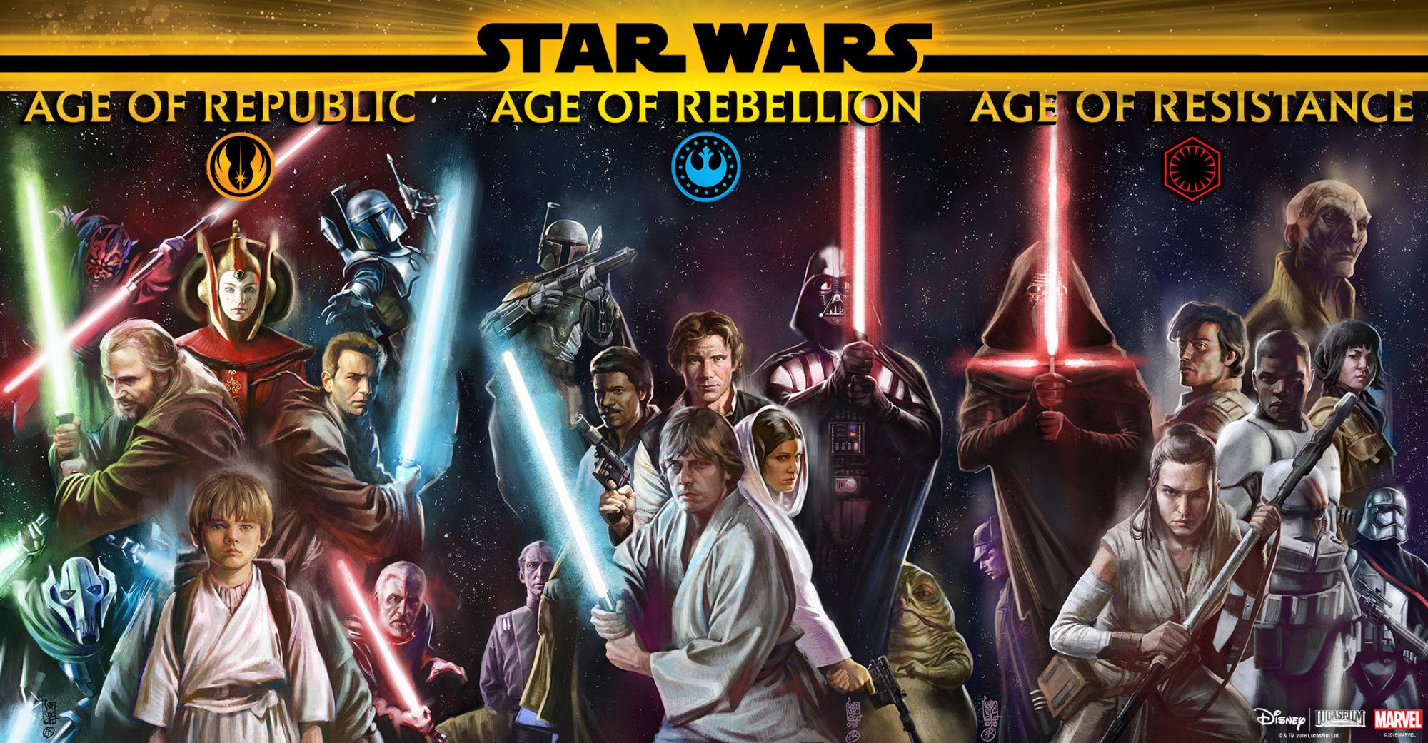 marvel age of star wars