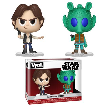 Funko POP Vynl Solo Greedo Leia