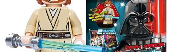 Magazine LEGO Star Wars numéro 3 – La Mini-Fig d'Obi-Wan Kenobi