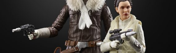 HASBRO – Han & Leia Echo Base The Black Series International Exclusive
