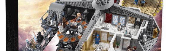 LEGO STAR WARS 75222 Trahison à la Cité des Nuages disponible pour tous
