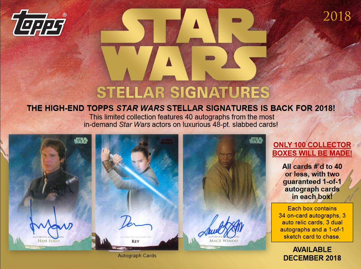 Topps Stellar Signatures