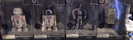 Exclusivités Disney Store : les nouveaux droïdes Elite Series
