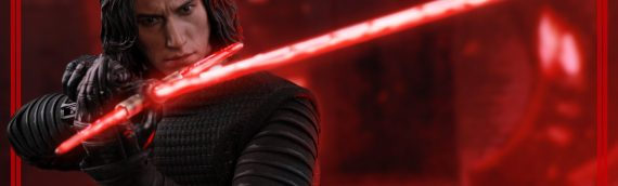 Hot Toys : Kylo Ren The Last Jedi TLJ en version de production