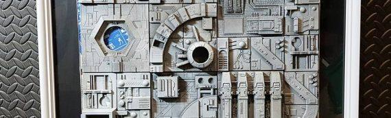 Y&M Props – Death Star Panel Props Replica