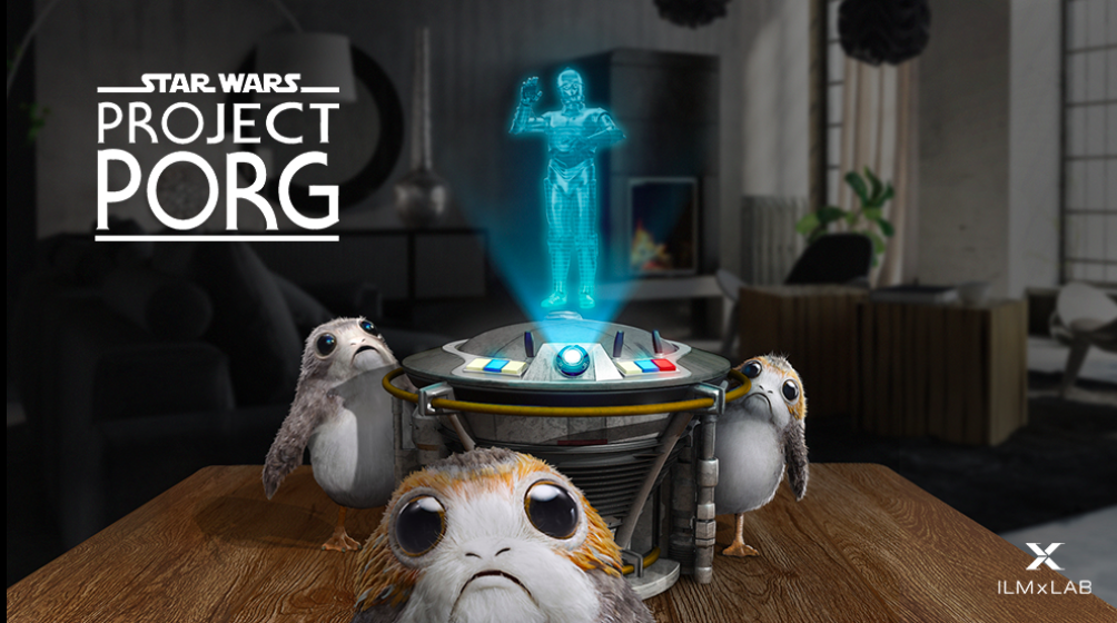 ILMxLAB Star Wars Prog Project