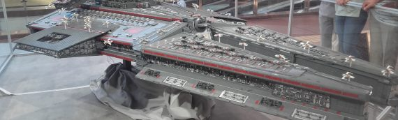 LEGO – Un croiseur Harrower-Class Dreadnought de 800.000 pièces