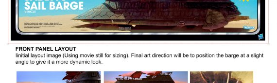 HASLAB – La barge de Jabba d'Hasbro dévoile ses coulisses