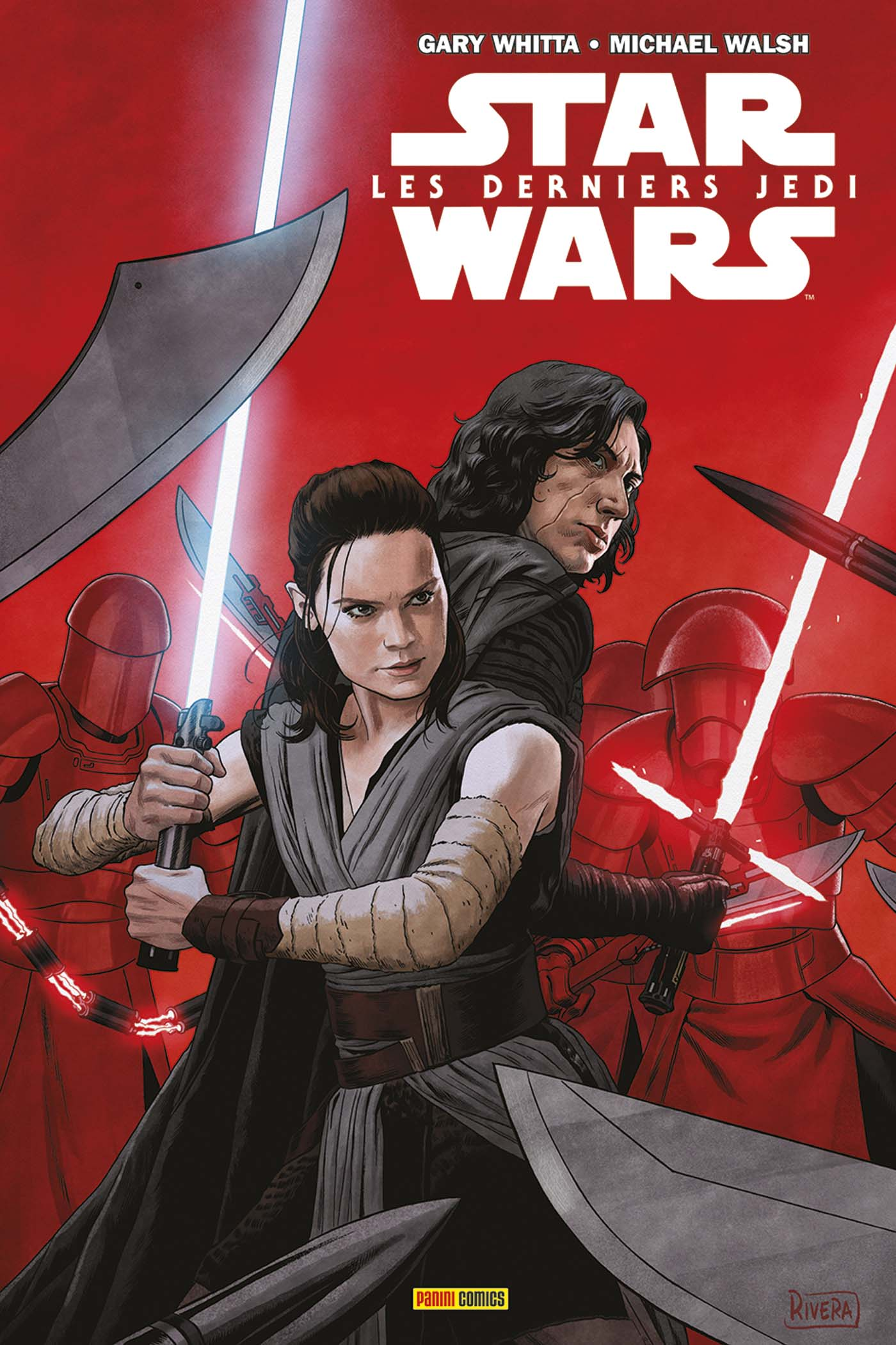 Panini Comics Star Wars The Last JEdi