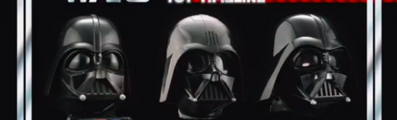 HASBRO – L'évolution du casque de Dark Vador The Black Series