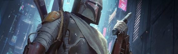 Sideshow Collectibles –  Boba Fett A Force to be Reckoned Art Print