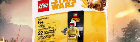 LEGO – Polybag du Kessel Mine Worker offert