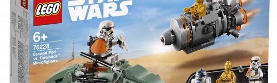 LEGO Star Wars Microfighter wave 6 disponible en 2019