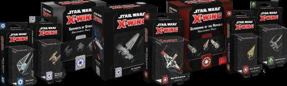 X-Wing Miniature – La Wave 3 spéciale Clone Wars