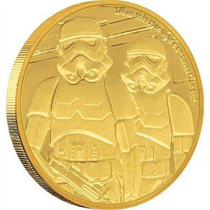 NewZealand Mint Coin Stormtrooper