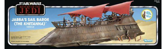 HASBRO – La présentation du packaging complet de la barge de Jabba