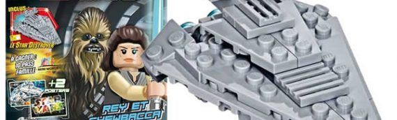 PANINI – Star Wars LEGO Magazine de décembre