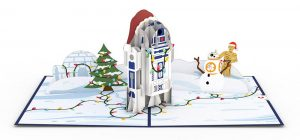 Love Pop Carte de voeux noel Star Wars