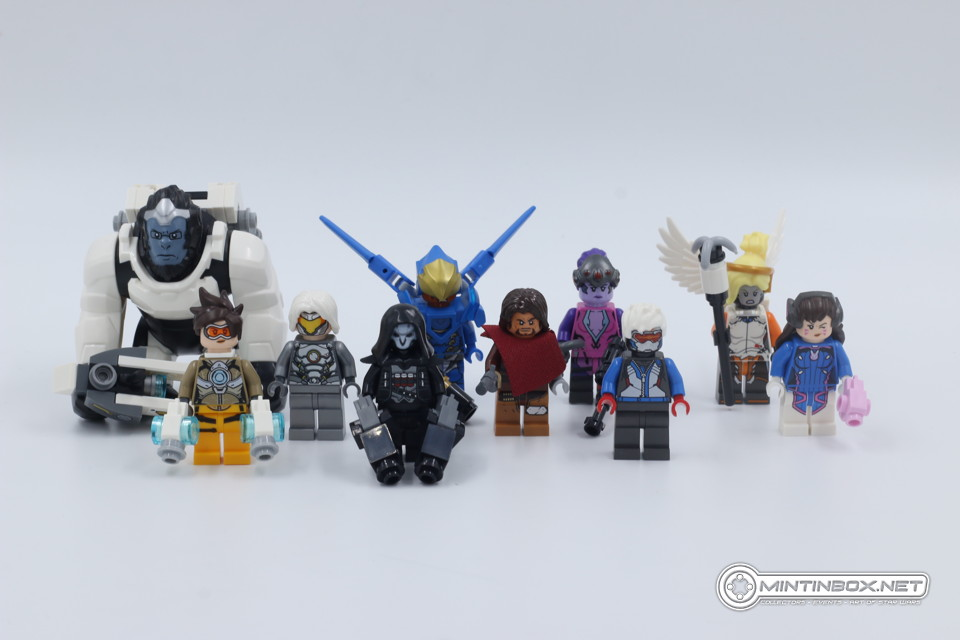LEGO Overwatch mini-figs