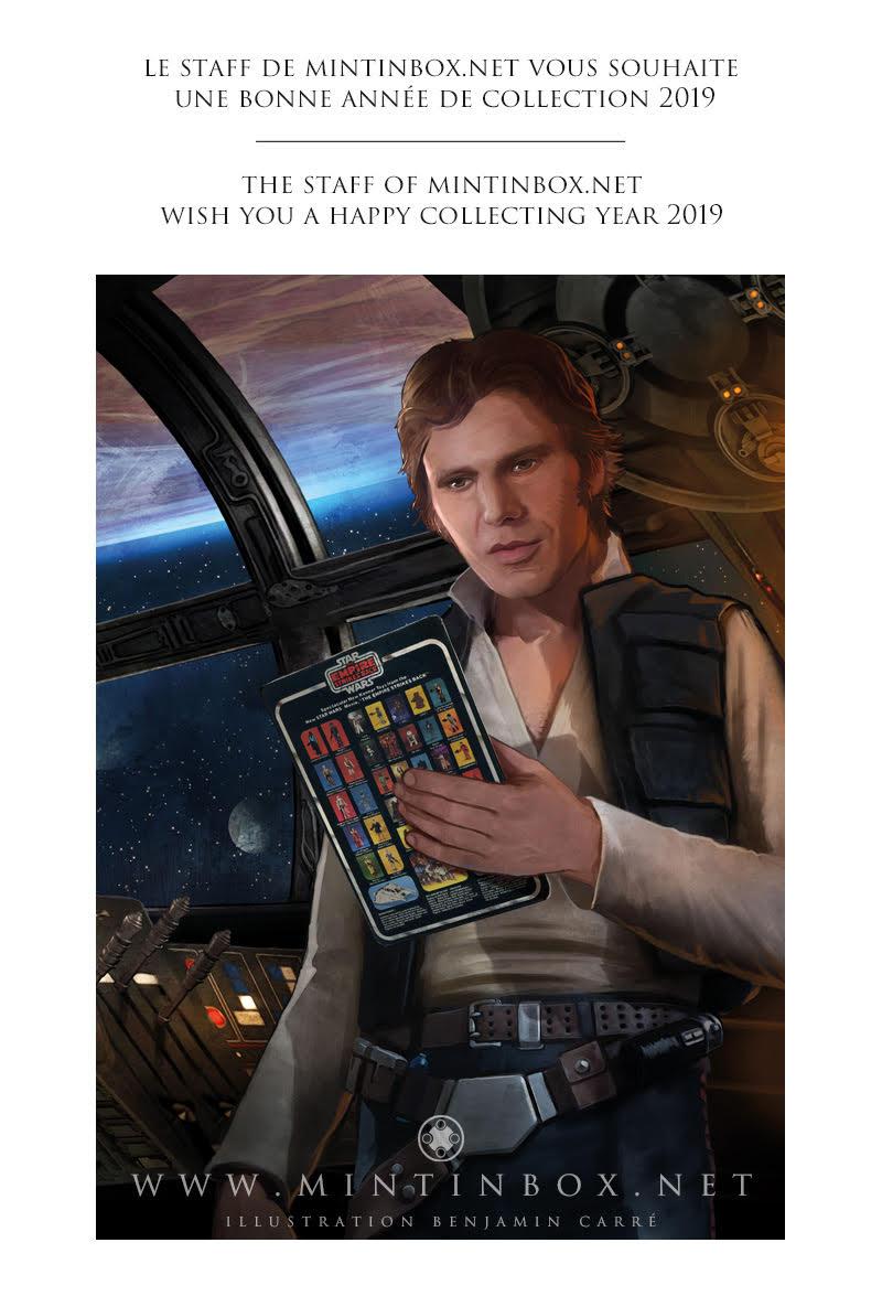Han Solo Mintinbox Christmas Card 2019