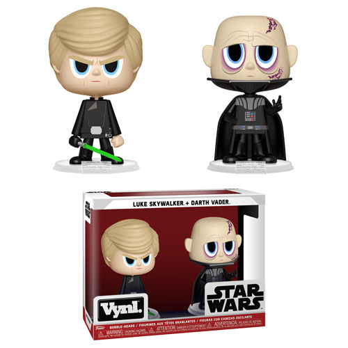 Funko Vynl Darth Vader Luke Skywalker