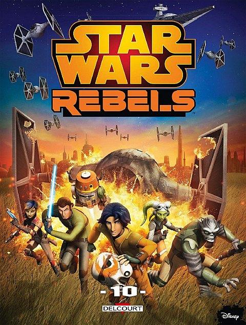 Delcourt Star Wars Rebels Tome 10