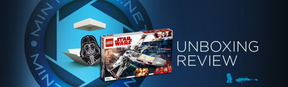 [Mintinbox opens the Box] LEGO Star Wars 75218 X-Wing