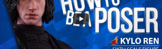 Hot Toys – Kylo Ren Sixth Scale Figure en vidéo