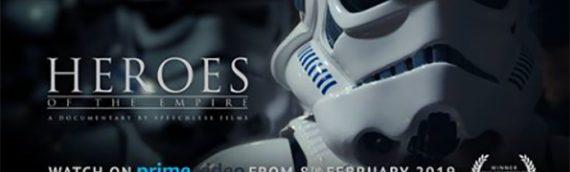 Heroes Of The Empire – Le film sur Amazon Prime le 8 février