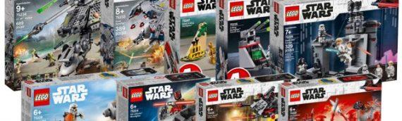 LEGO – Les premiers sets Star Wars 2019 sont disponibles