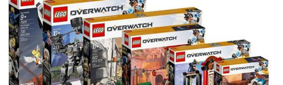 LEGO – Les sets Overwatch sont disponibles