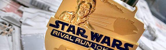 Les médailles du Disney Star Wars Half Marathon 2019 se dévoile