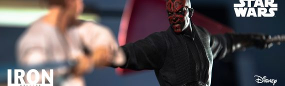 IRON STUDIOS – Darth Maul Art Scale 1/10