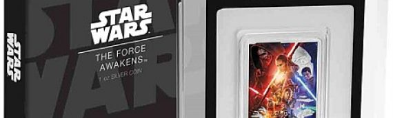 NZ Mint: Star Wars The Force Awakens 1oz Silver Coin