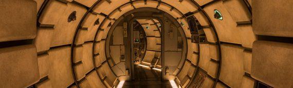 Disney Star Wars Galaxy Edge – Visite à 360 degré du Faucon Millenium