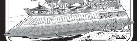 HASLAB – Les instructions de montage de la barge de Jabba sont en lignes