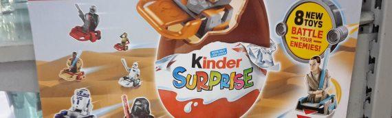 Star Wars s'invite dans les Kinders Surprise en Nouvelle-Zelande