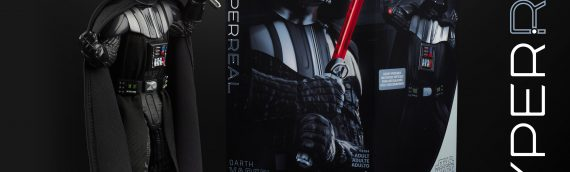 HASBRO – The Black Series HyperReal Dark Vader 8 pouces