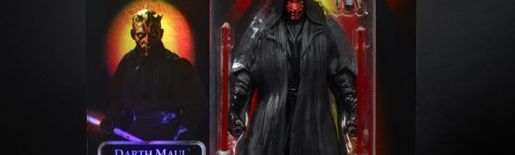 HASBRO – The Phantom Menace 20th Anniversary Celebration Exclusive Darth Maul & Obi-Wan Kenobi Figures