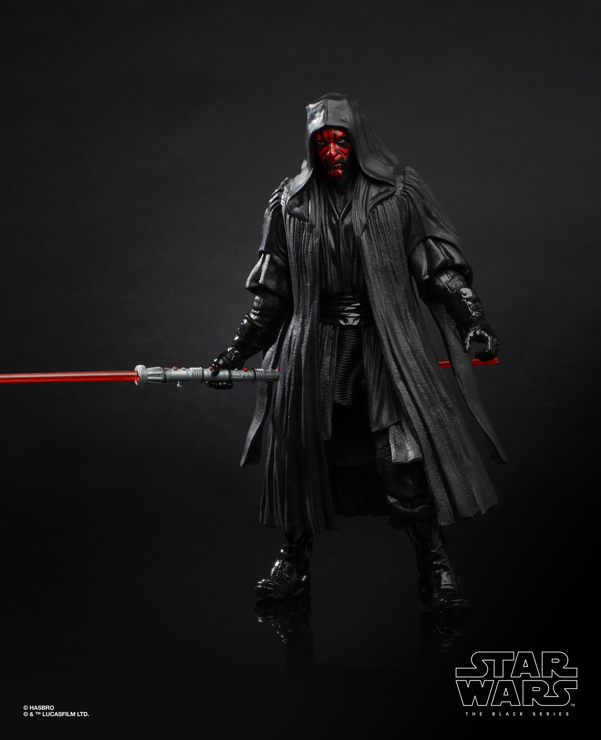 Dans la Main Star Wars Black Series Darth Maul Menace Fantôme 20th Anniversary Figure