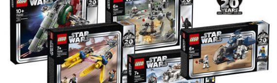 LEGO – Les images officielles de la gamme Star Wars 20ème Anniversaire