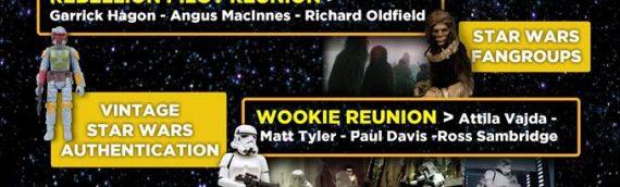 """Comic Con Bruxelles – """"Star Wars Générations"""" plus de 40 acteurs de la saga"""