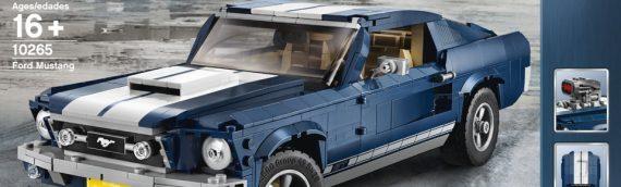 LEGO – Le set LEGO Creator 10265 Ford Mustang est disponible