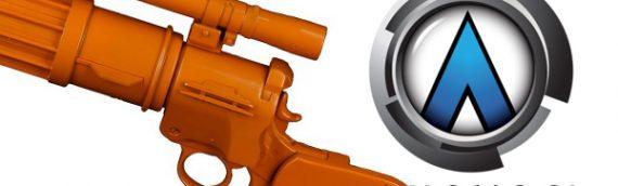 ANOVOS : Le blaster EE-3 de Boba Fett