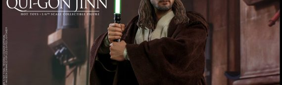 HOT TOYS – Qui-Gon Jinn Sixth Scale Figure
