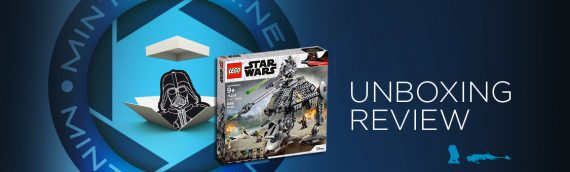 [Mintinbox opens the Box] LEGO Star Wars 75234 AT-AP Walker