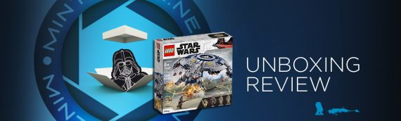 [Mintinbox opens the Box] LEGO STAR WARS 75233 DROID GUNSHIP