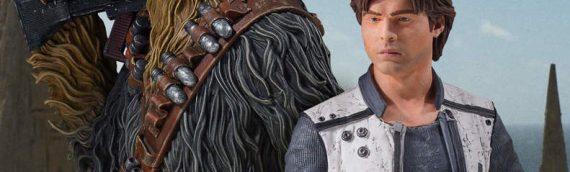 Gentle Giant : Les mini-bustes de SOLO – A Star Wars Story en vidéo